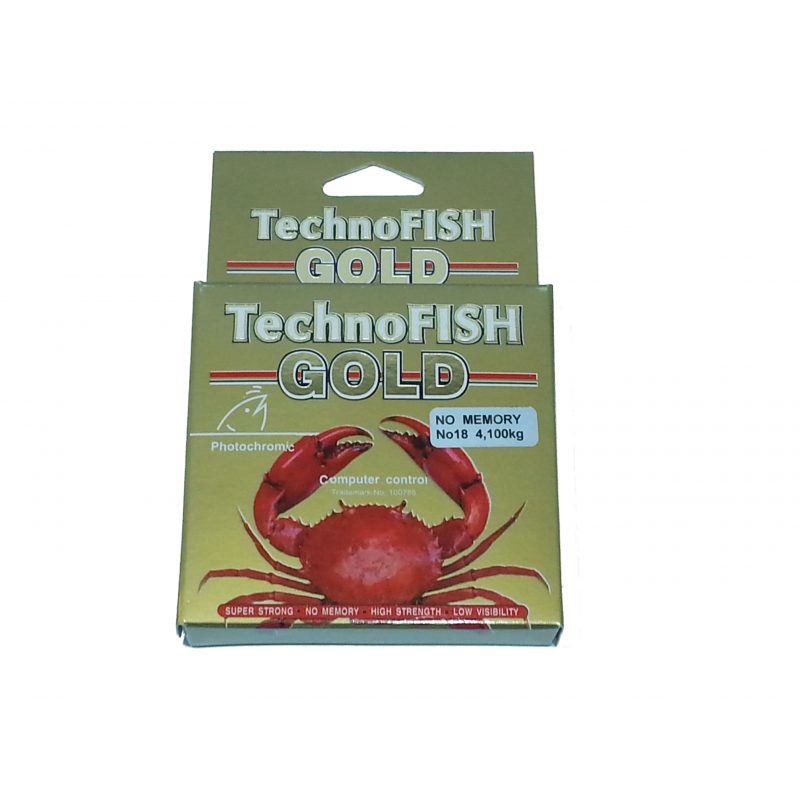 TECHNOFISH GOLD 100M